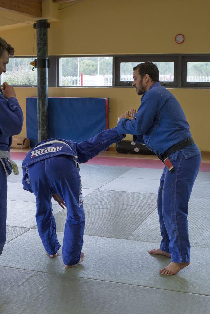 jiu-jitsu brésilien et self défense