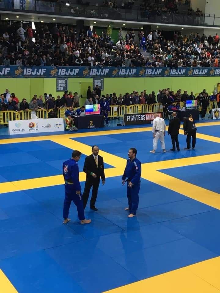 François Brandao competition Ibjjf de Lisbonne 2019